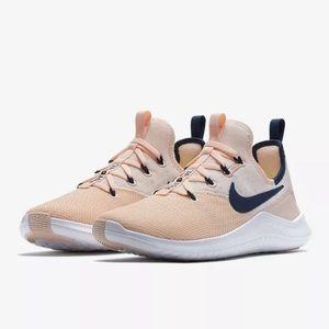 Nike Womens Nike Free Tr 8 SIZE 7 Navy White Shoes